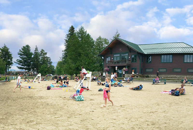 Lake Placid Public Beach