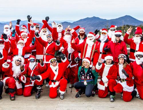 Santas Ski Free at Whiteface