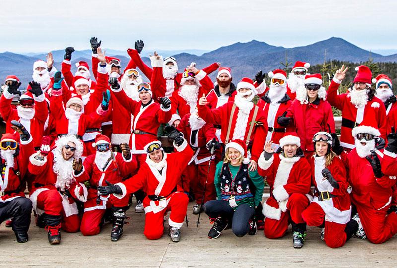 Santa Skis Whiteface Free