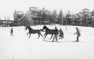 Historical image of the Lake Placid Club