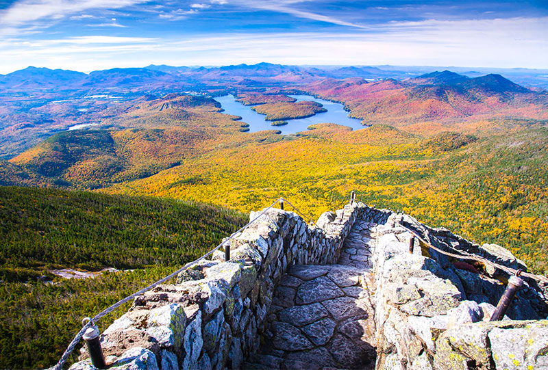 Lake Placid view from Whiteface