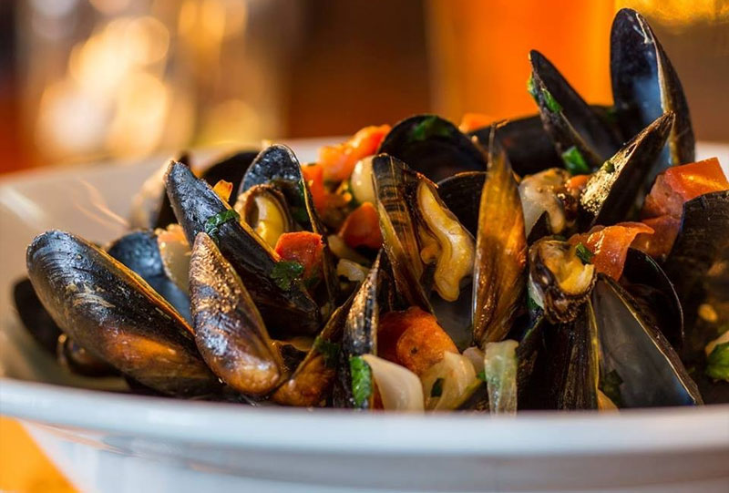 Pickled Pig Mussels