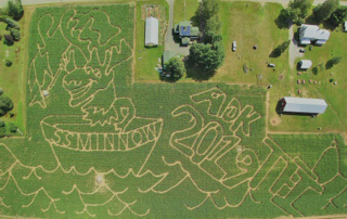 Great Adirondack Corn Maze at Tucker Farm