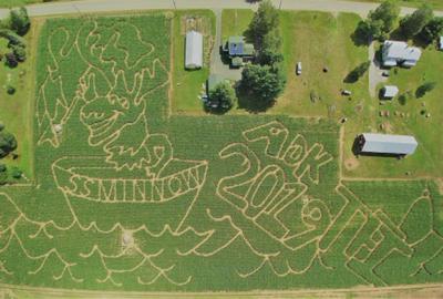 Great Adirondack Corn Maze at Tucker Farm
