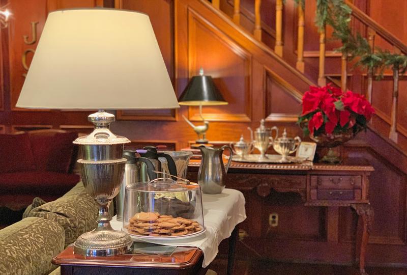 Afternoon Tea at the Mirror Lake Inn