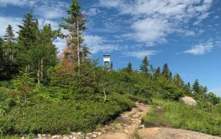 Azure Mountain Fire Tower