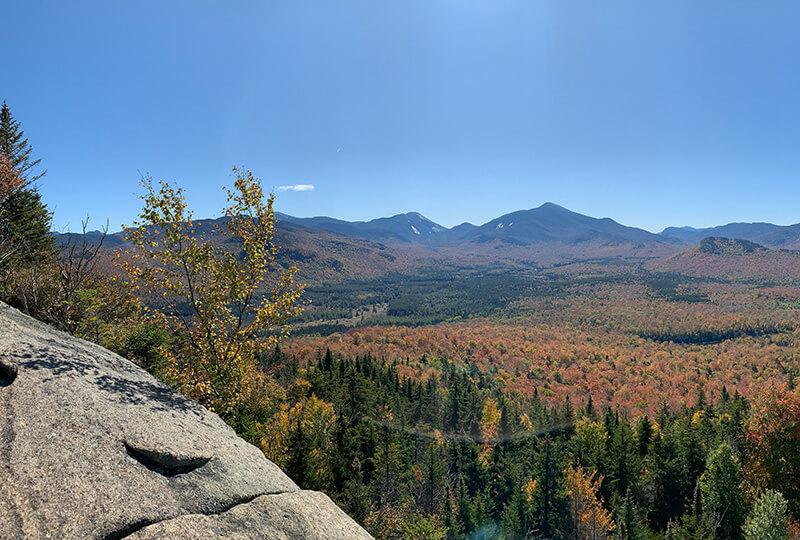 View from Mt. Van Hoevenberg